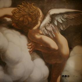 Роспись в спальне «Ангел» Нижневартовск