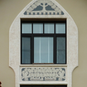 Роспись фасада Югенд