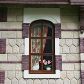 Нарисованное окно