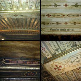 Ресторан «Most» потолки с балками